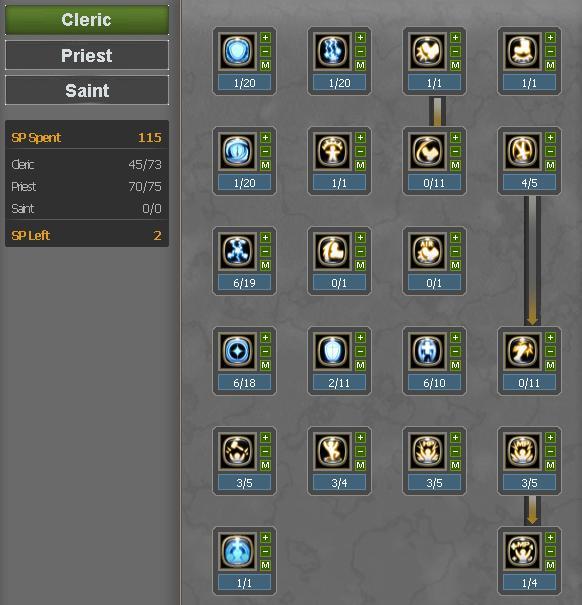 build skill priest full support dragon nest