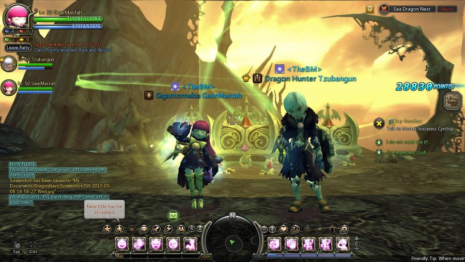 duet SEA dragon nest
