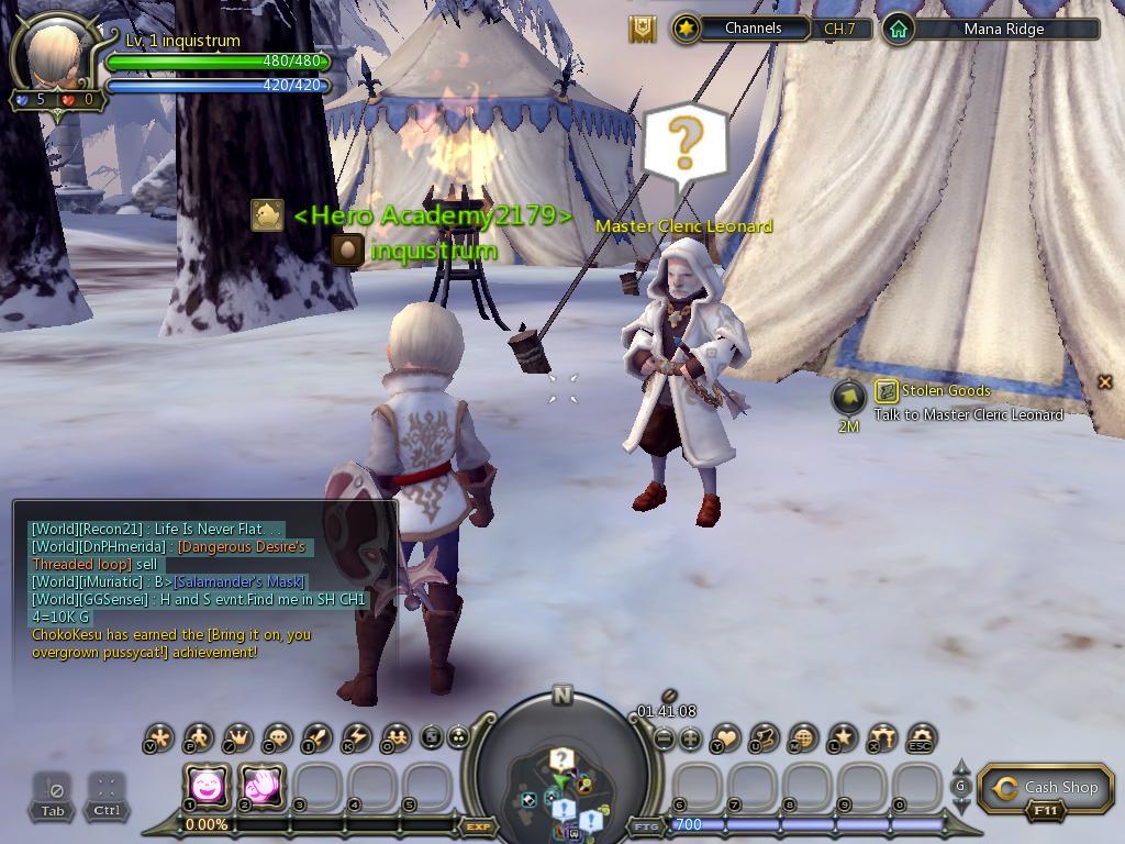 edan bertemu master cleric leonard