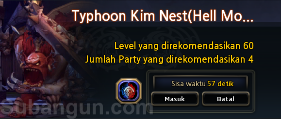 dragon nest indonesia TKN hell