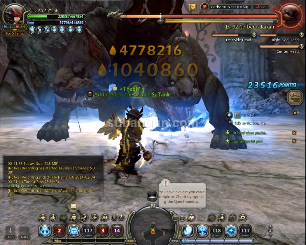 dragon nest frost nova