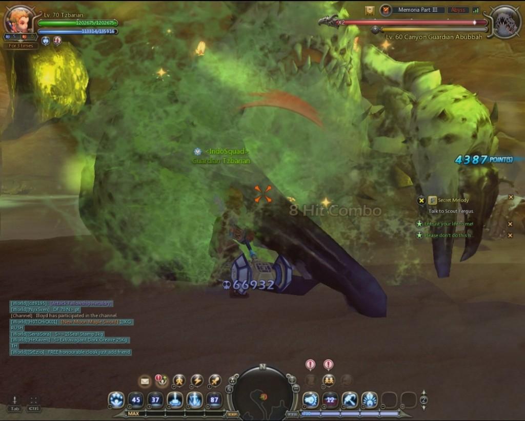 Dragon nest destroyer tank poison prison test1