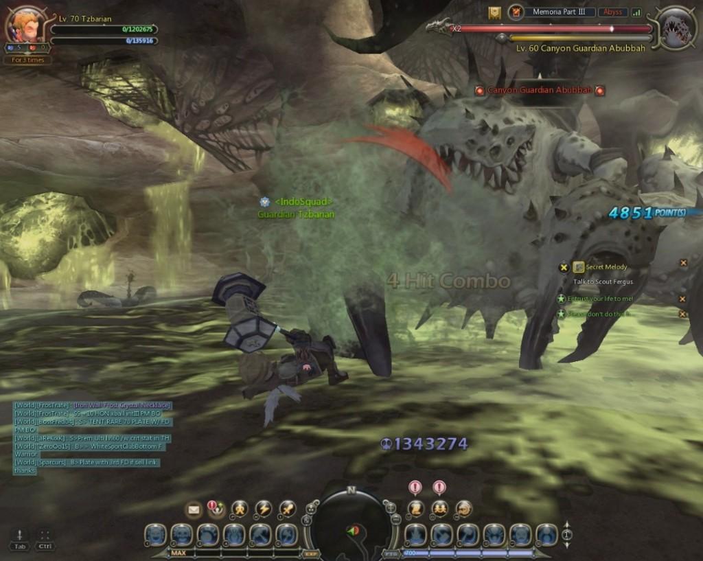 Dragon nest destroyer tank poison prison test2