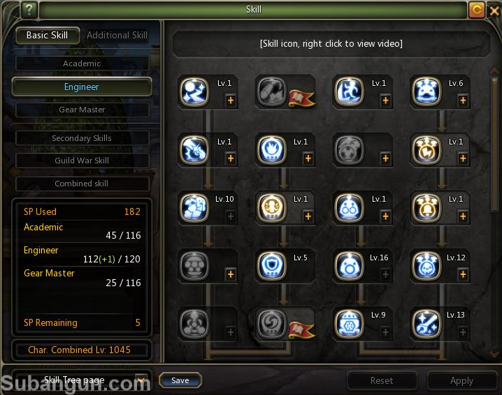 Dragon nest Indonesia Engginer gm build