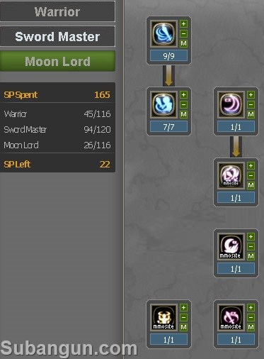 Dragon nest Indonesia Lunar Knight build