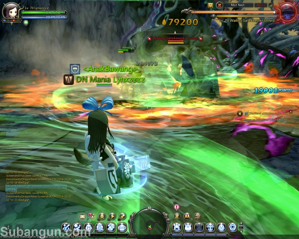 Dragon Nest Indonesia Mist Nest Guide Wailing Gatekeeper Ornid STAGE