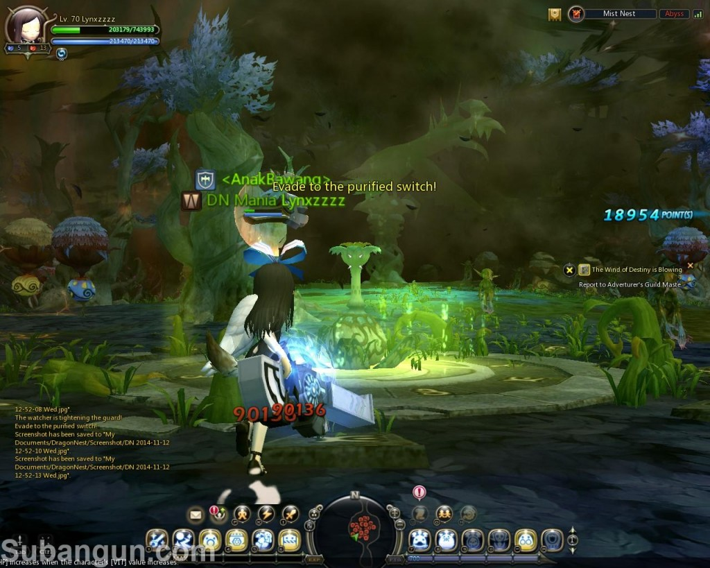 Dragon Nest Indonesia Mist Nest Guide watch tower stage 2