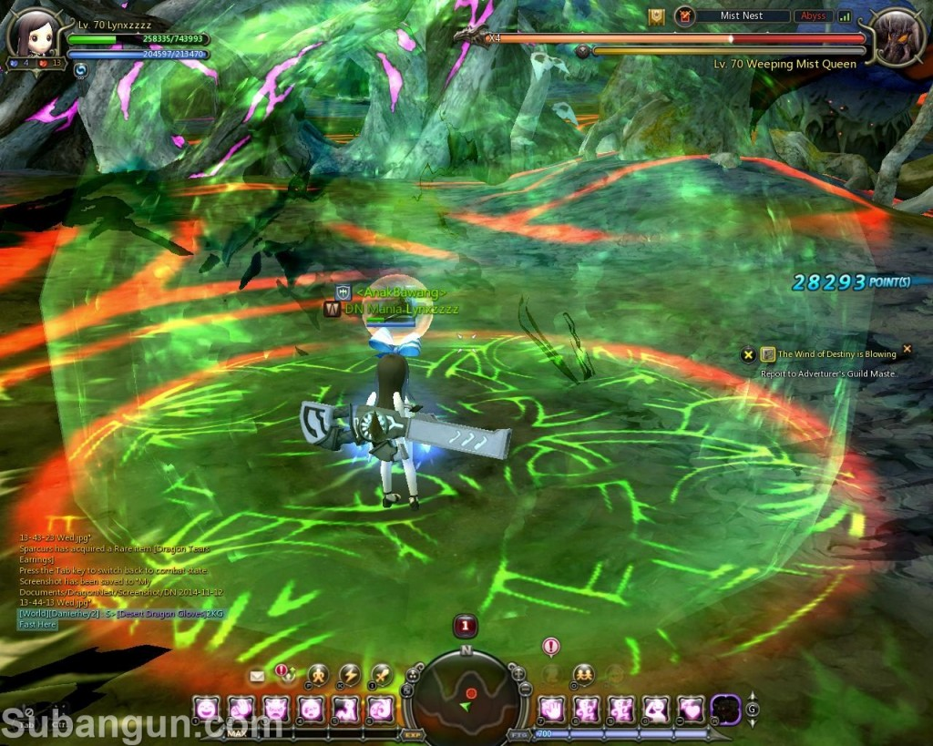 Dragon Nest Indonesia Mist Nest Weeping Mist Queen Stage 2