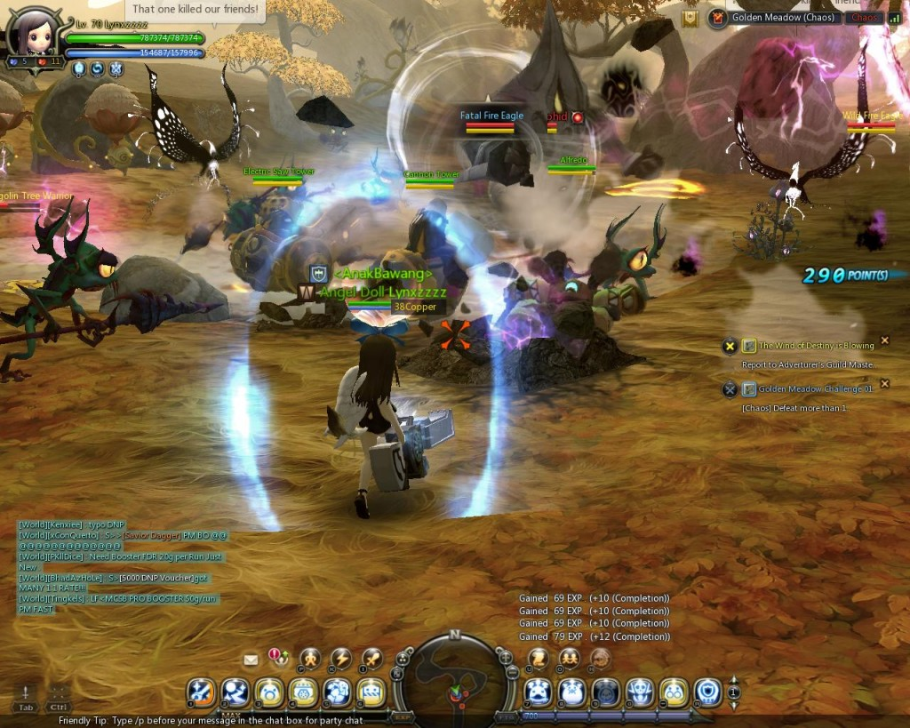 dragon nest chaos mode golden meadow