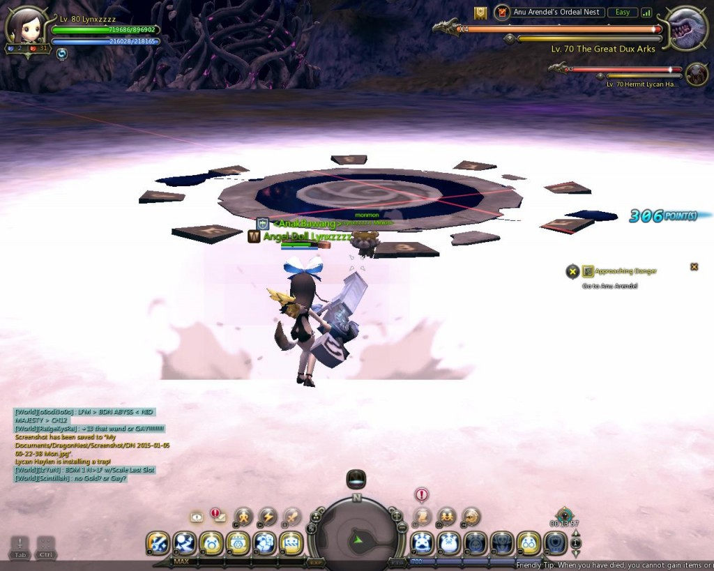 Dragon Nest Indonesia Anu arendel trial nest Stage 3