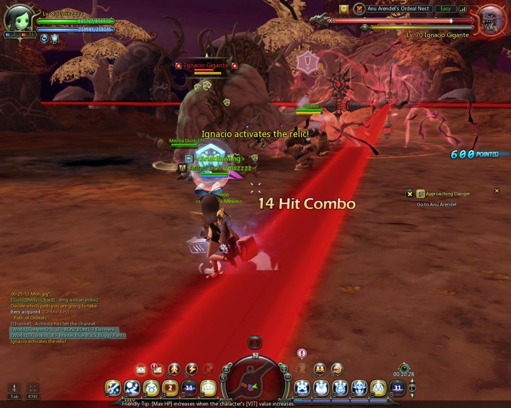 Dragon Nest Indonesia Anu arendel trial nest Stage 4