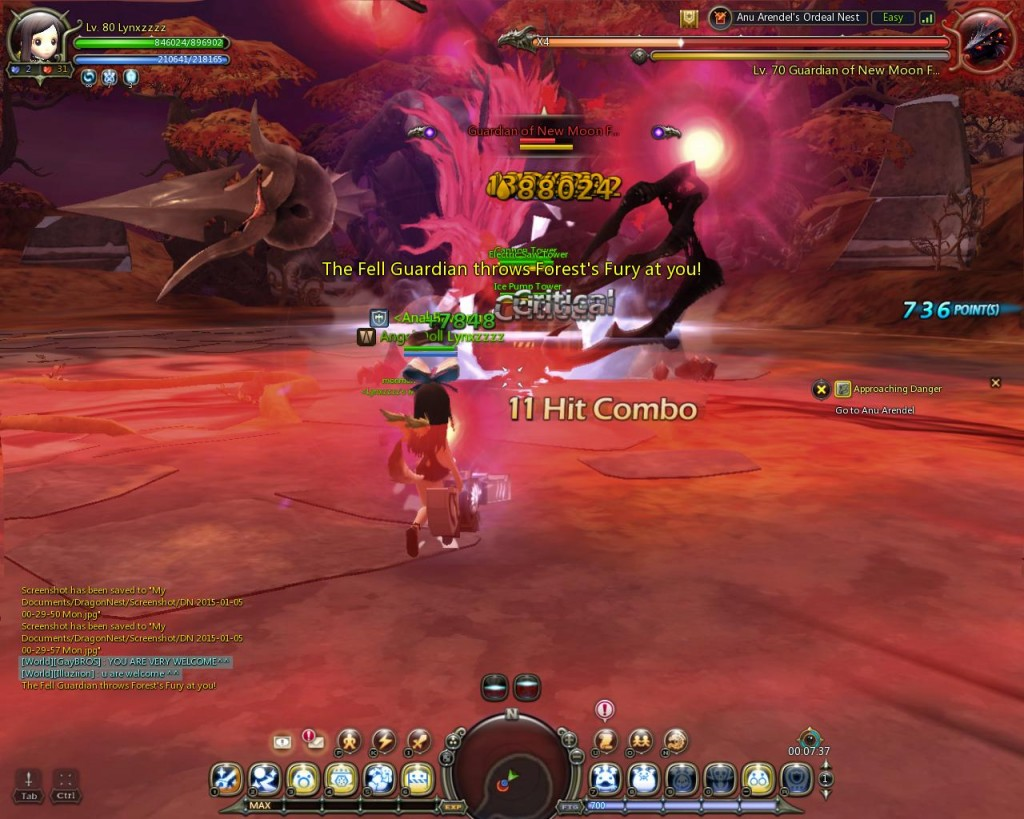 Dragon Nest Indonesia Anu arendel trial nest Stage 5